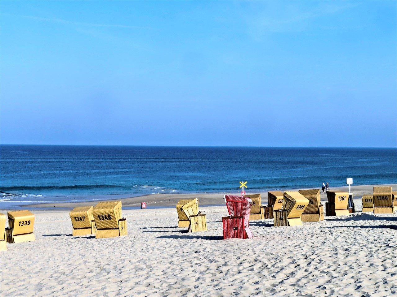 Sylt Strand Strandkörbe